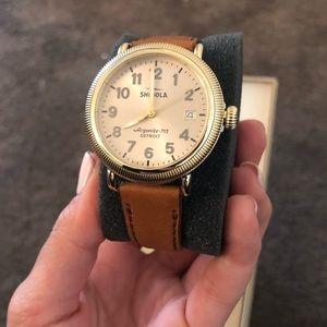 Women's shinola watch